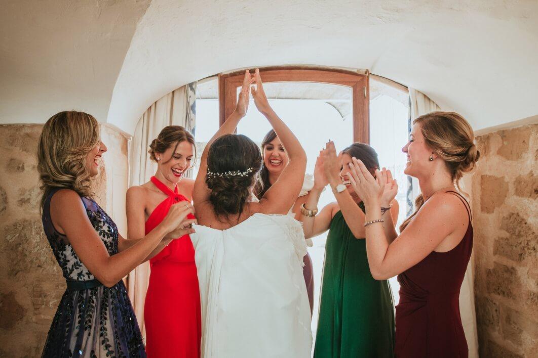 wedding dress Mallorca 1