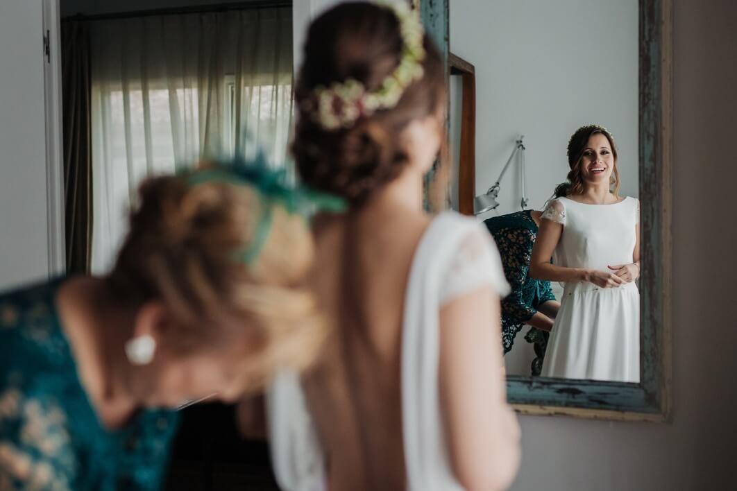 vestido novia Cayetana Ferrer