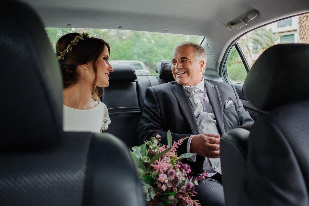 coche de boda