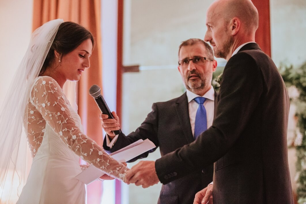 wedding ceremony Cap Rocat Mallorca 1