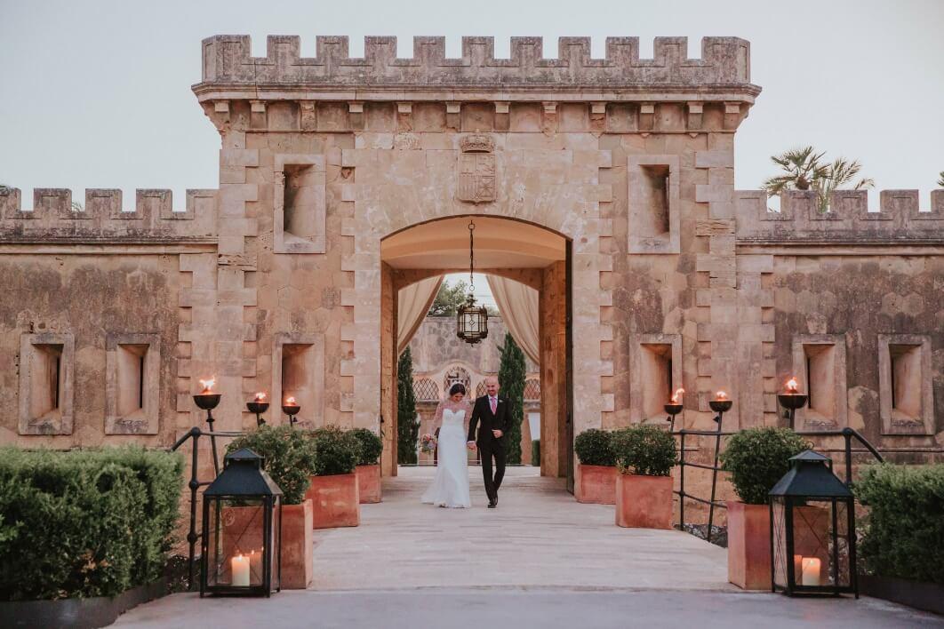 Mallorca wedding photographers Cap Rocat 1