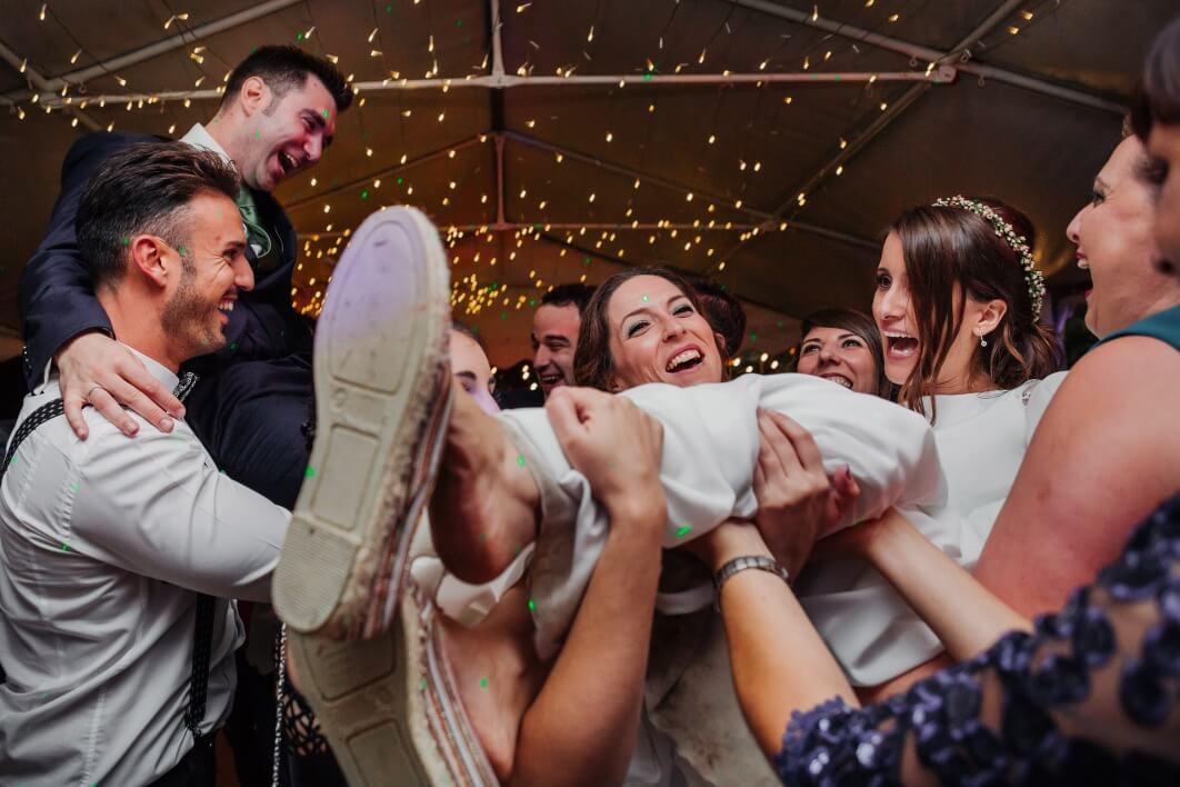 boda en la finca El Torrero