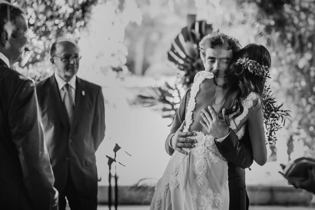 boda en Jardines de Abril