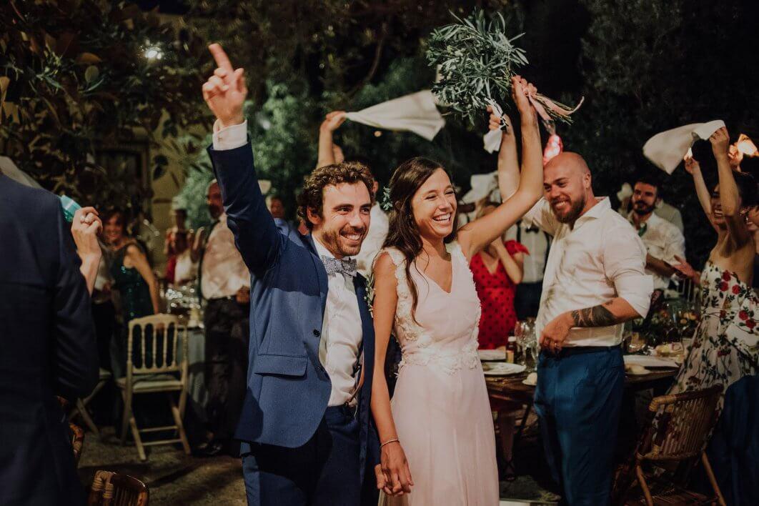 boda noche Jardines de Abril