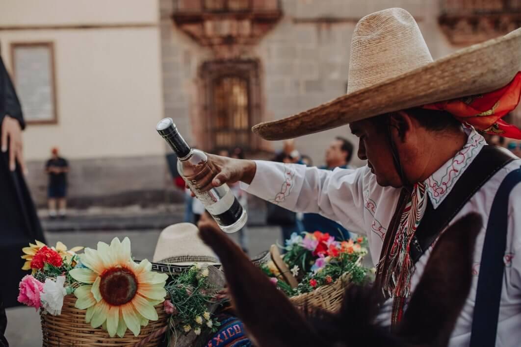 Callejoneada tequila San Miguel de Allende