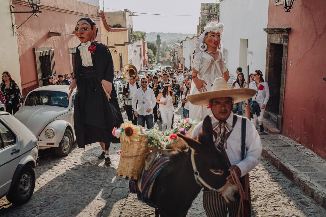 Callejoneada tradicional San Miguel de Allende