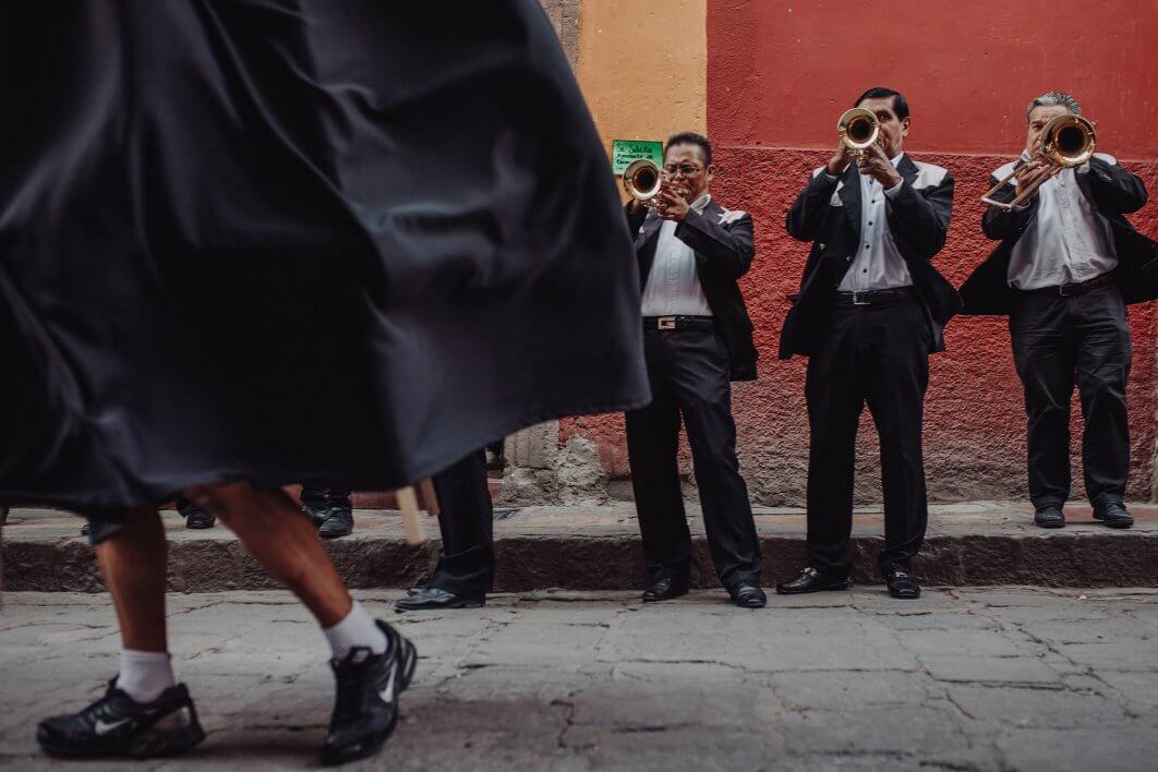 Callejoneada photos San Miguel de Allende