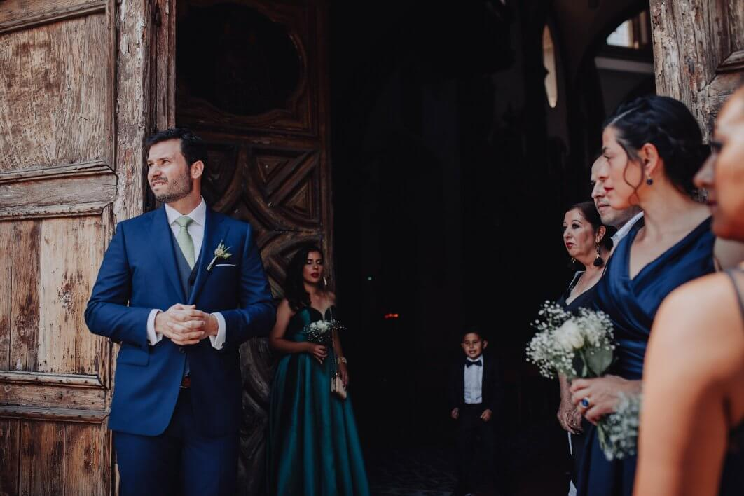 templo San Francisco wedding San Miguel de Allende
