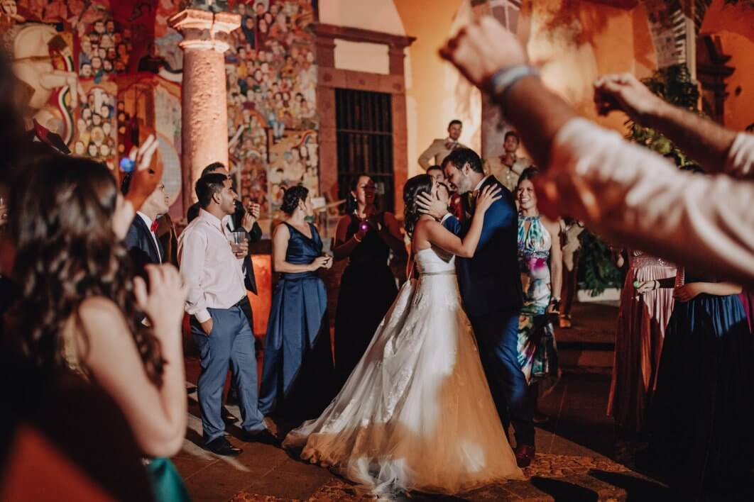 night wedding San Miguel de Allende