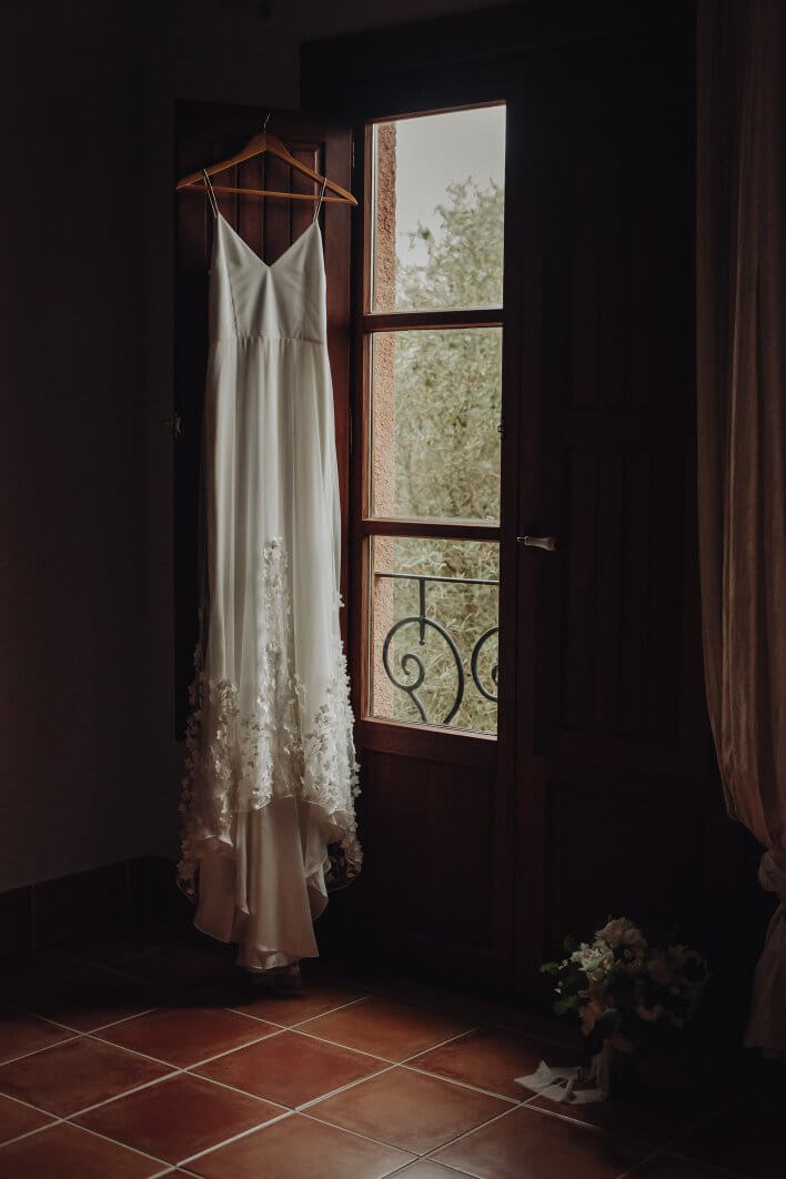 bridal dress Mallorca