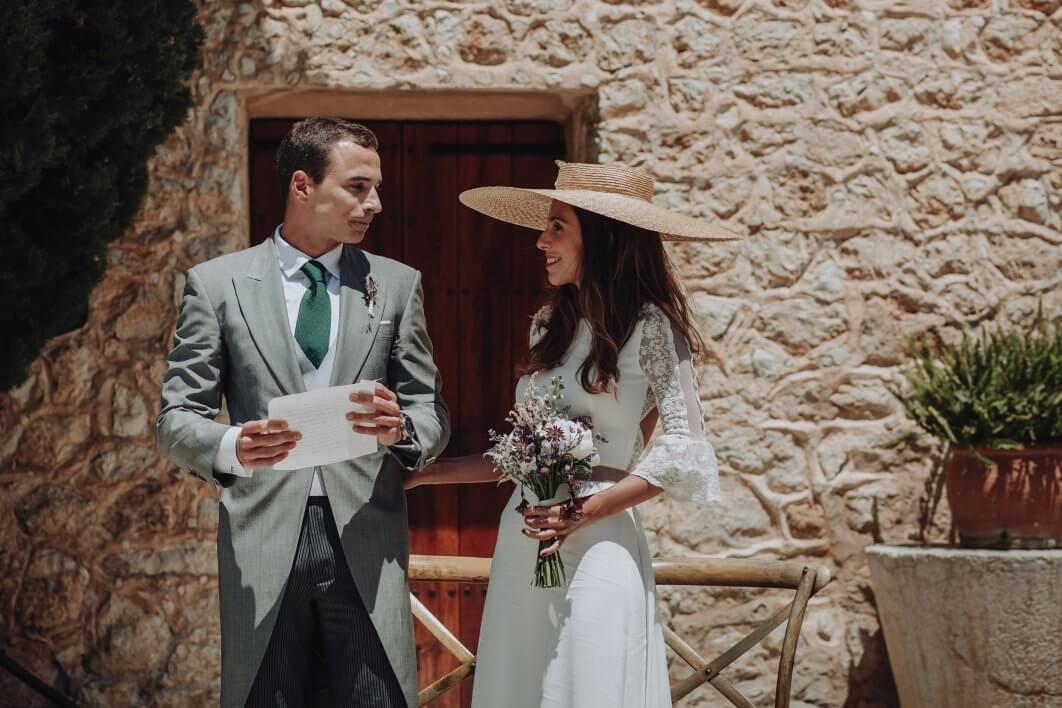 rustic ceremony Mallorca