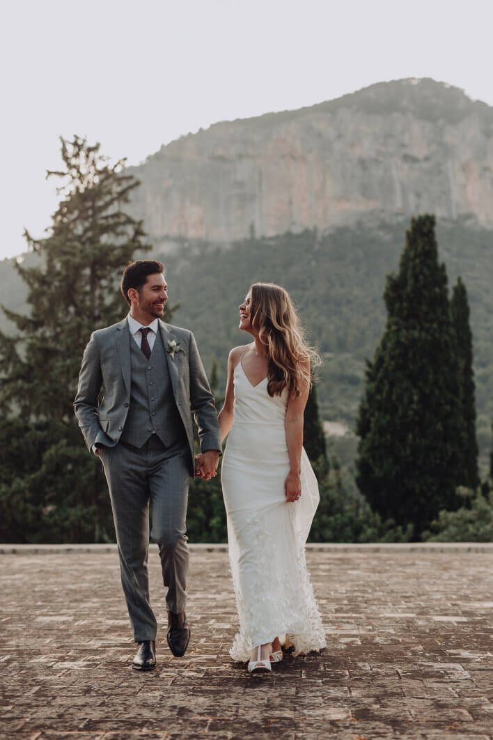 Mallorca boho wedding