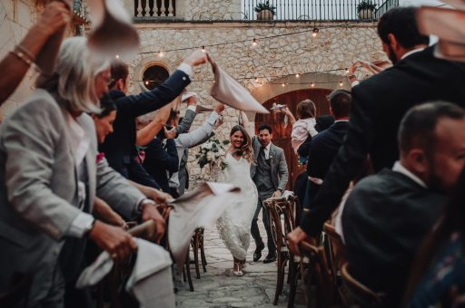 Romantic Son Berga Mallorca wedding