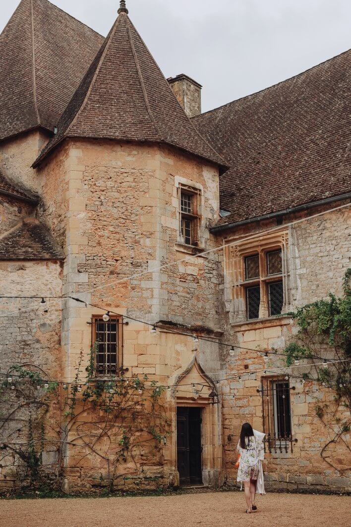 Dordogne chateau wedding