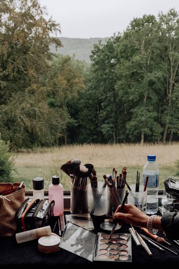 Dordogne makeup artist