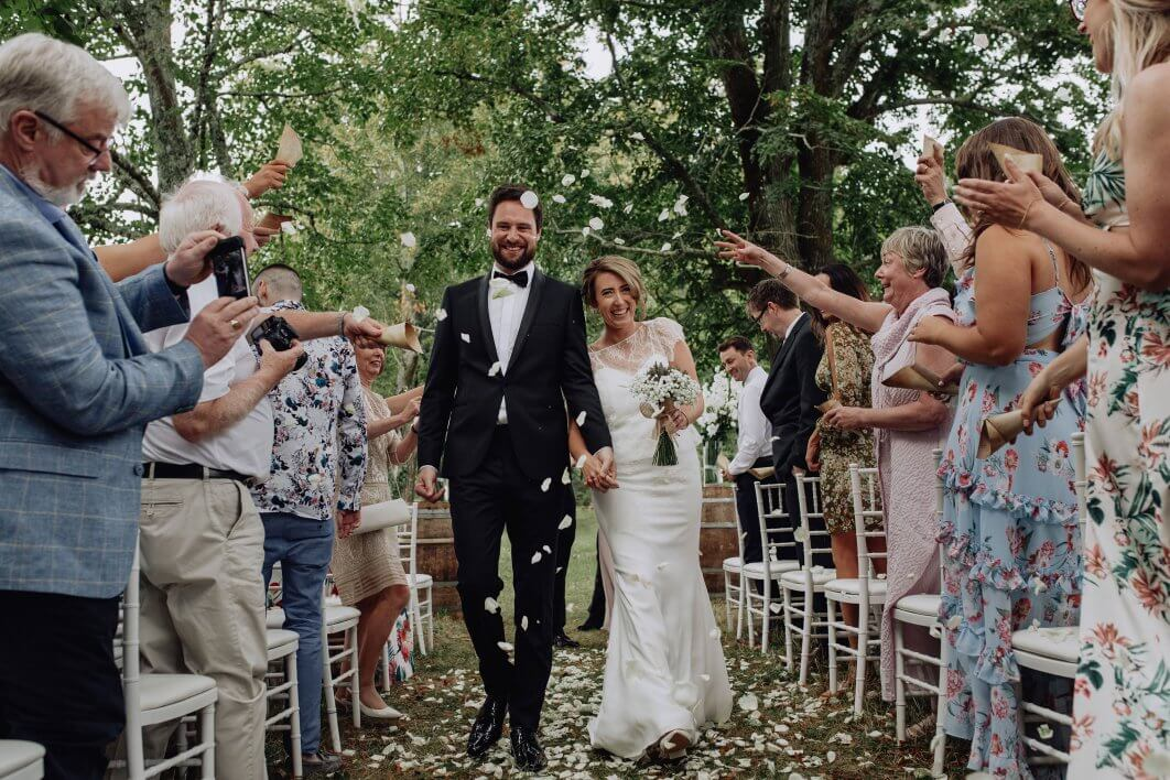 French chateau wedding Dordogne
