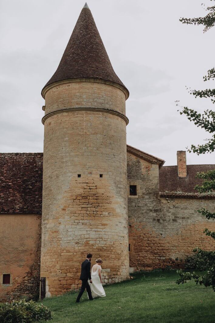French chateau wedding photographer