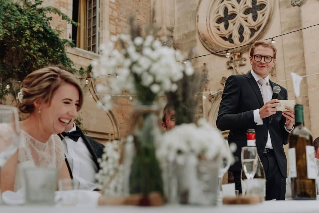 a French chateau wedding