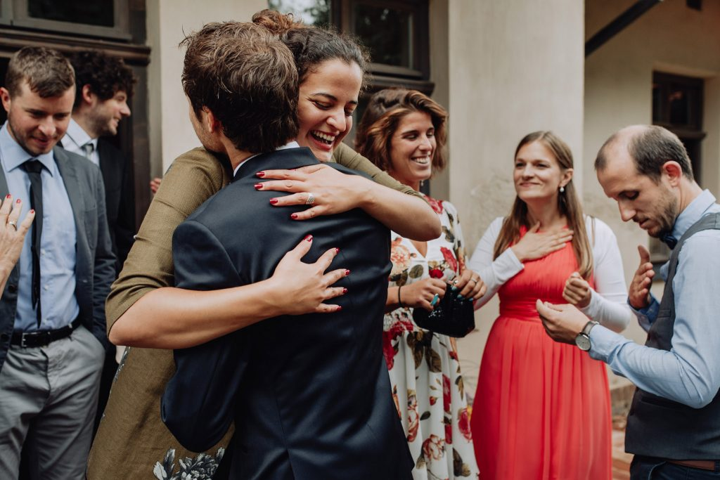 hugs wedding Latvia