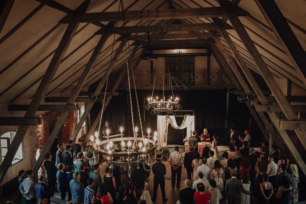 indoors ceremony Mazmezotnes Muiza Latvia