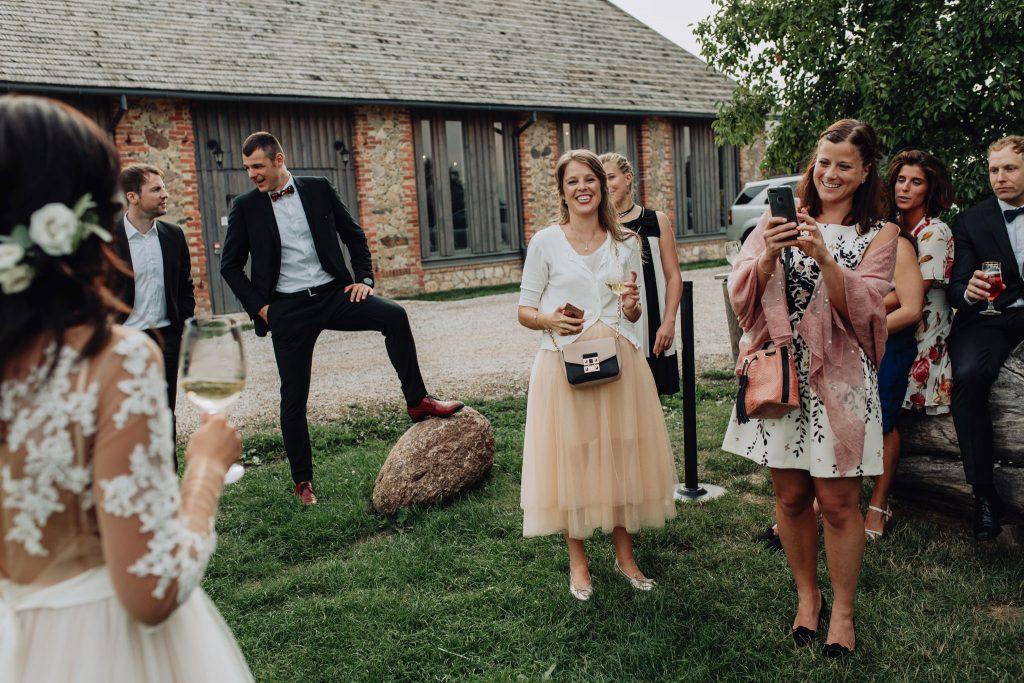 relaxed wedding Mazmezotnes Muiza Latvia