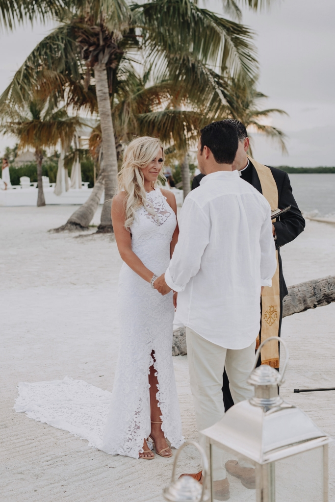 beach wedding Key West