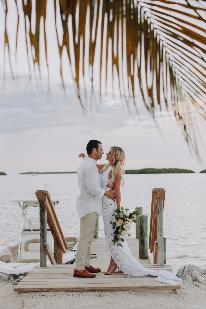 Blue Water Wedding Islamorada