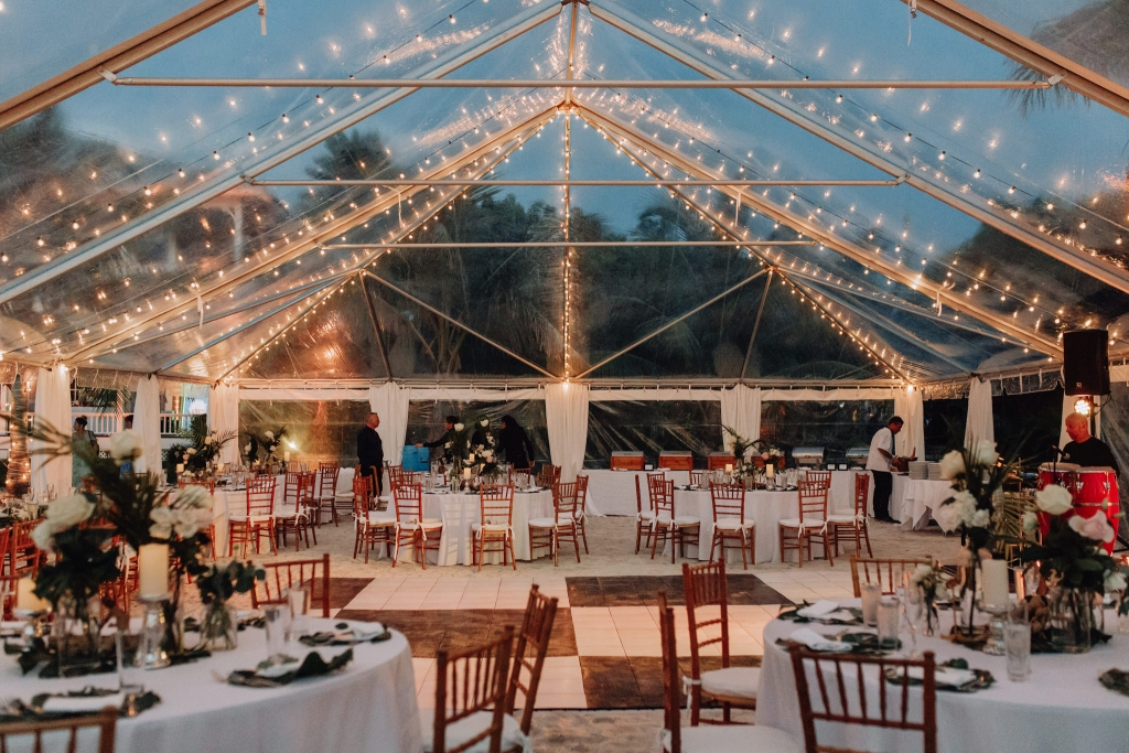 tent wedding Florida Keys