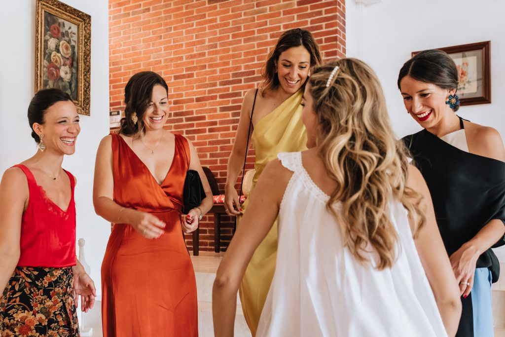getting ready palma mallorca wedding