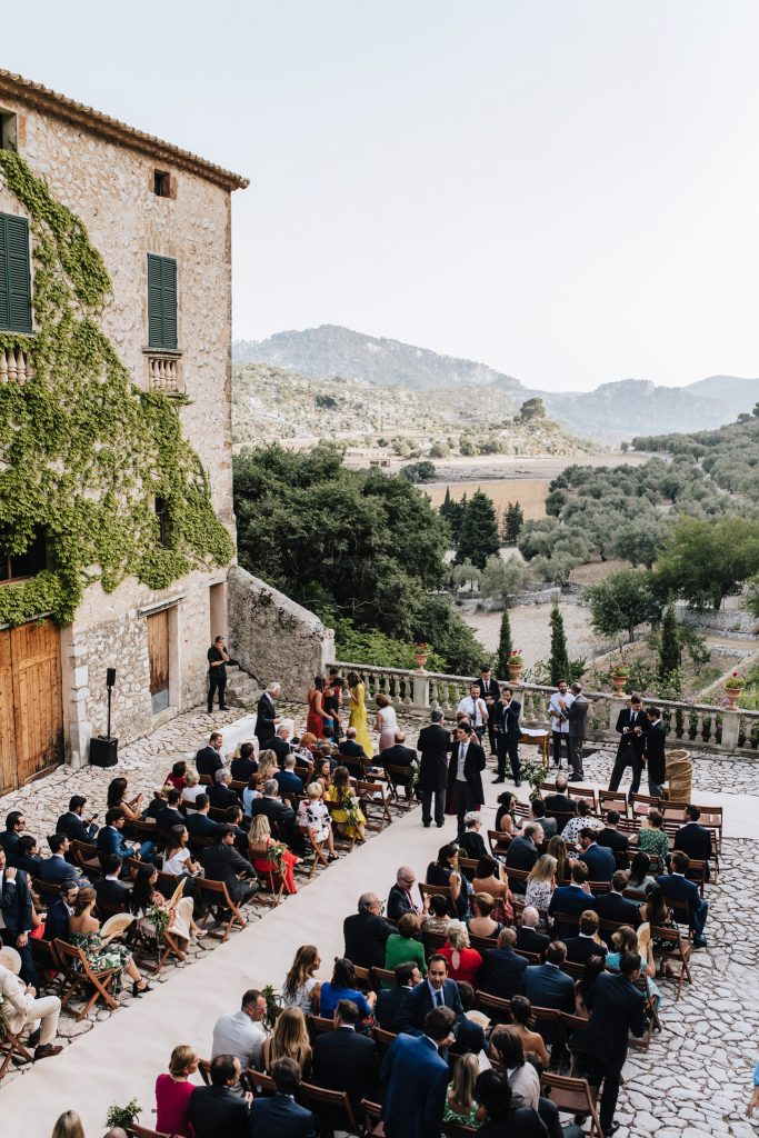 finca comassema wedding ceremony