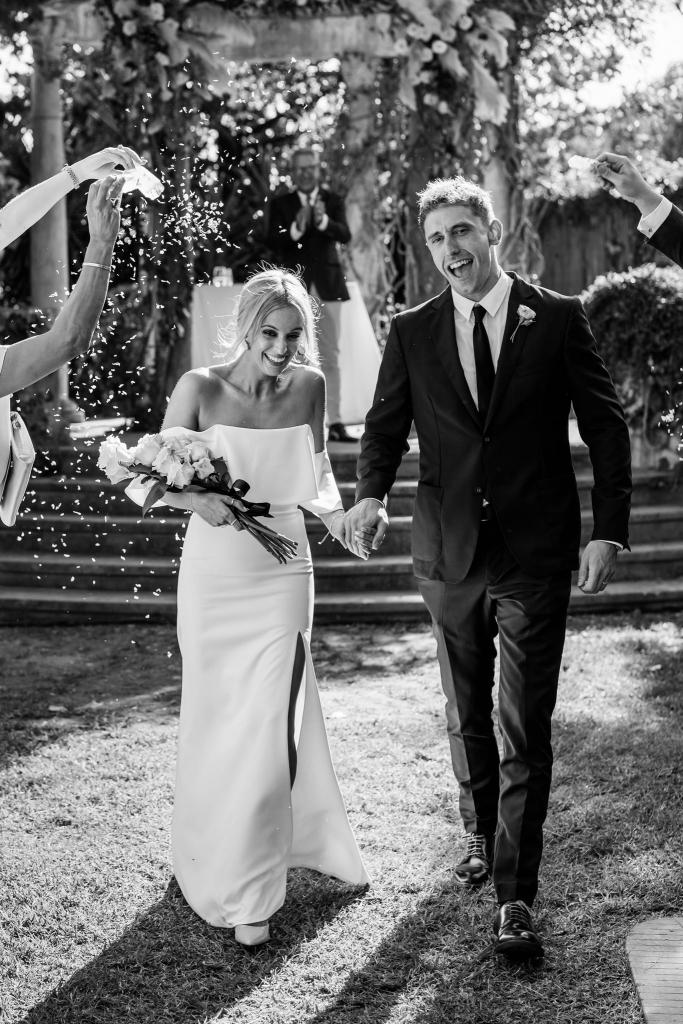 Casa Santonja wedding ceremony