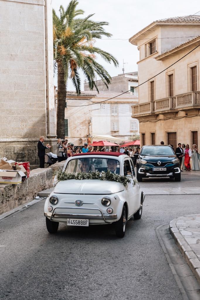 wedding car Mallorca 1