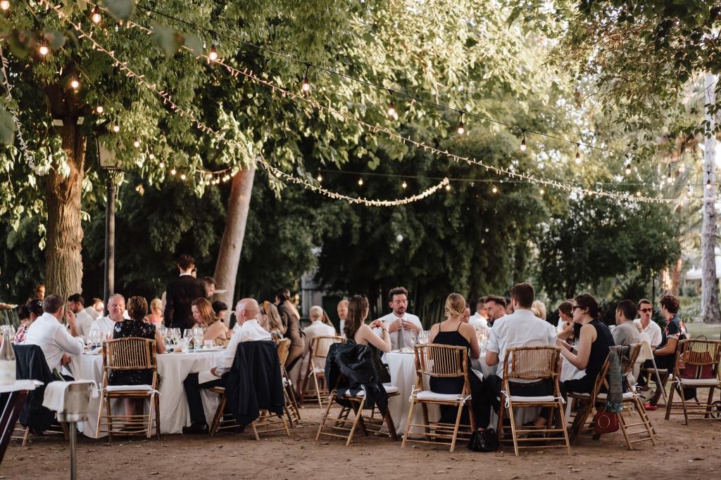 dinner wedding Casa Santonja