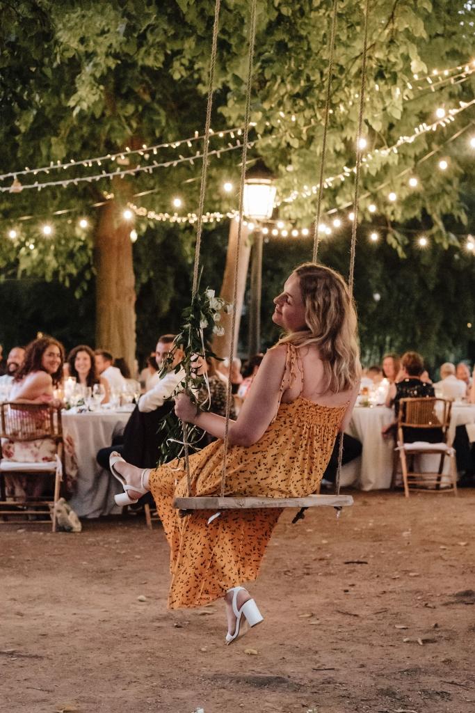 Casa Santonja wedding garden