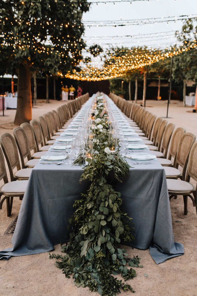 long wedding table Mallorca 1