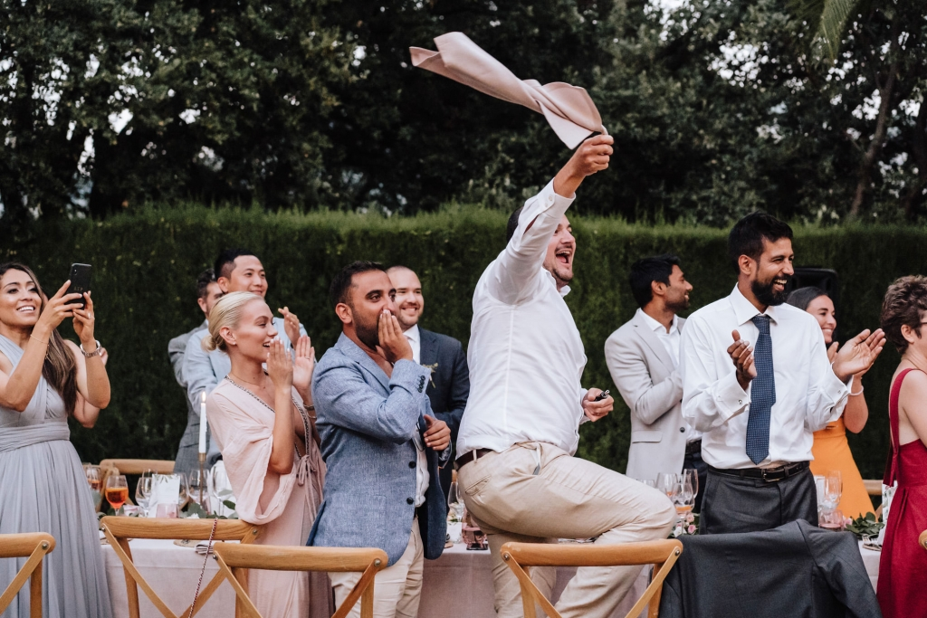 Finca Comassema wedding reception