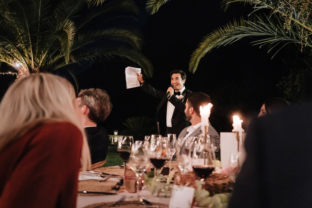 Finca Comassema wedding reception