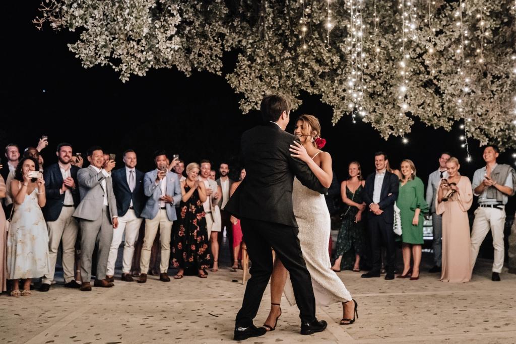 Finca Comassema first dance